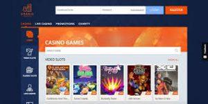 Oranje casino landing page
